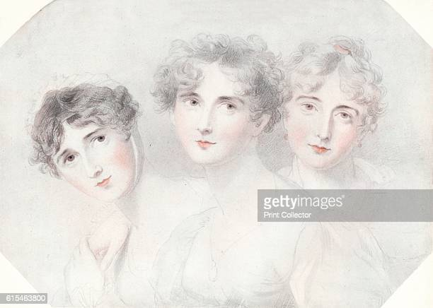 Lady Bagot Viscountess Burghersh and Lady Fitzroy Somerset' Lady Emily Harriet WellesleyPole with her sisters Lady Priscilla Anne WellesleyPole...