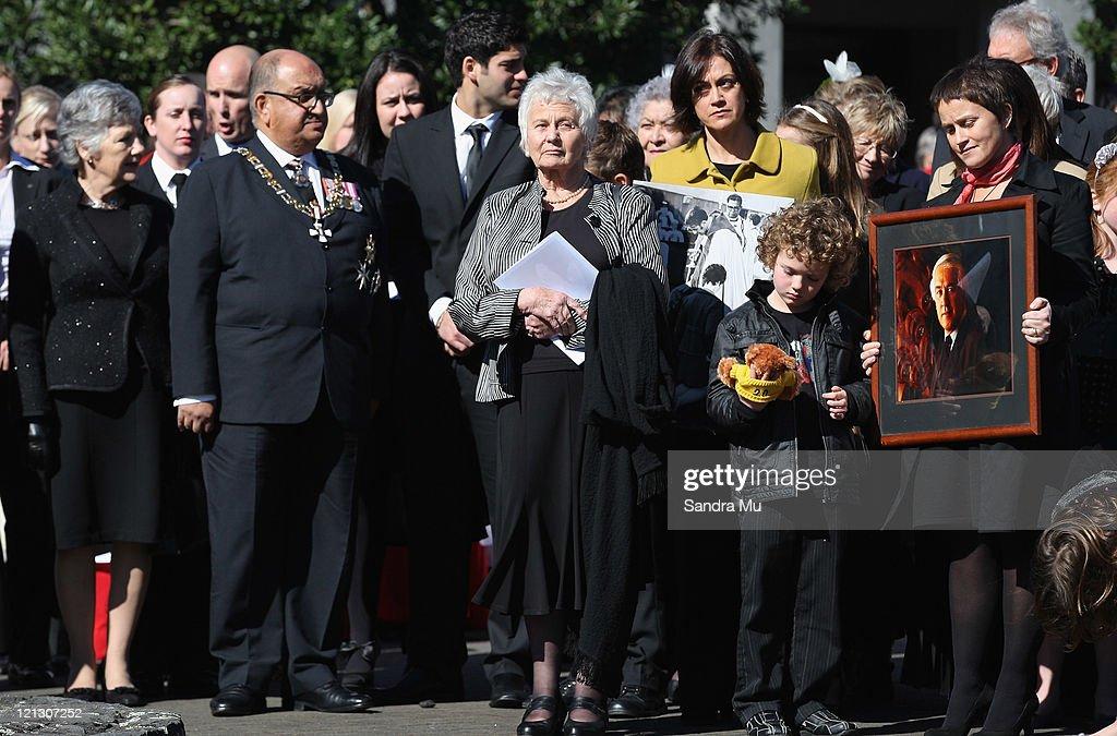 State Funeral Held For Sir Paul Reeves