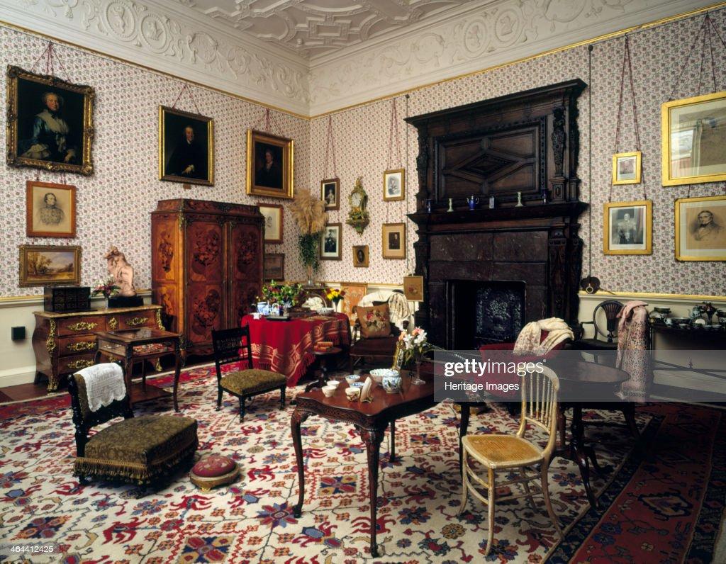 Lady Braybrooke 39 S Sitting Room Audley End House Saffron