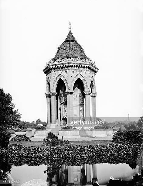 Lady Burdett Coutts' Drinking Fountain Victoria Park Bow London 1870 A view of The Lady Burdett Coutts' drinking fountain in Victoria Park It was...