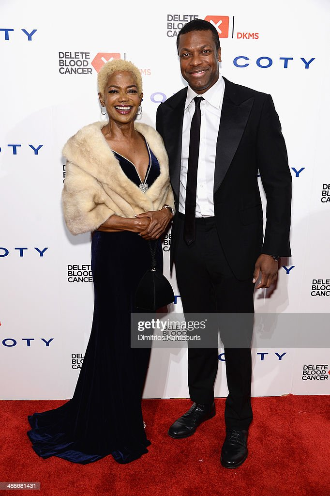 Lady Dee and Chris Tucker attend the 2014 Delete Blood Cancer Gala Honoring Evan Sohn and the Sohn Conference Foundation at Cipriani Wall Street on May 7, 2014 in New York City.