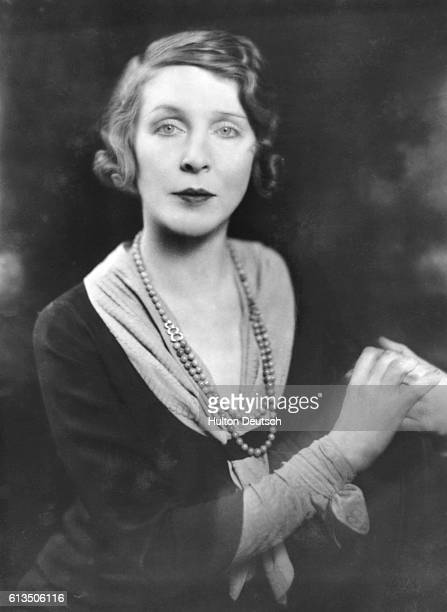 Lady Diana Cooper the actress and wife of the politician Sir Alfred Duff Cooper 1st Viscount Norwich 1931