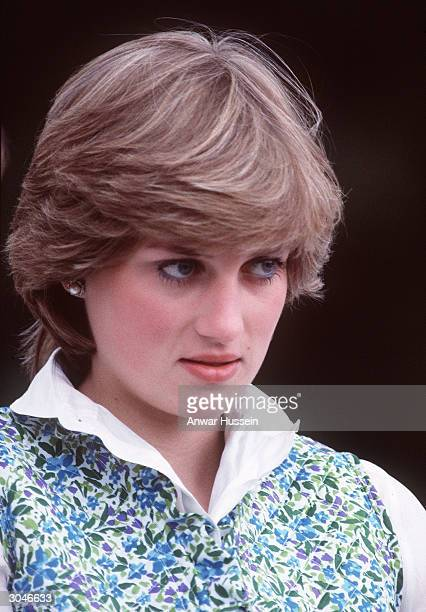This undated photo shows Diana Princess of Wales at a polo match before she married in 1981 Diana told of a lonely existence in her married life to...