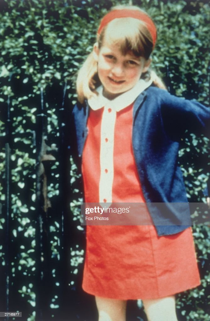 Lady Diana Spencer (1961 - 1997) later the wife of Prince Charles, 1969.