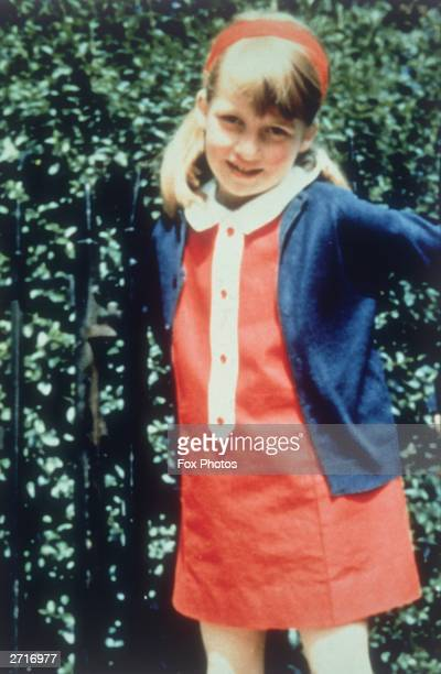 Lady Diana Spencer later the wife of Prince Charles 1969