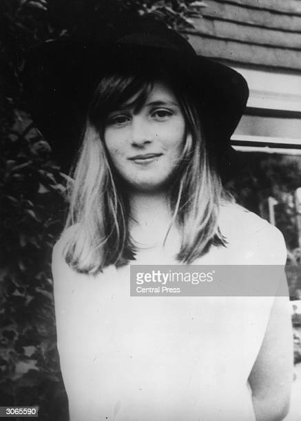 Lady Diana Spencer later the wife of Prince Charles during a summer holiday in Itchenor West Sussex