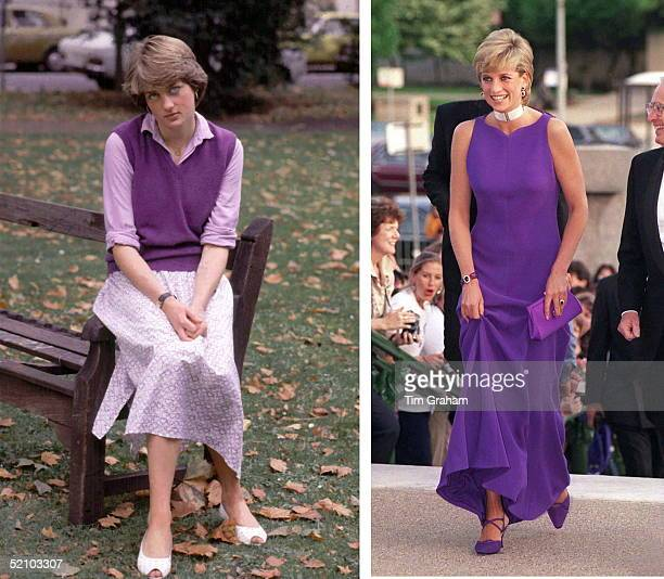 Lady Diana Spencer Transformed From Shy Day In 1980 Into Diana Princess Of Wales International Icon In 1996