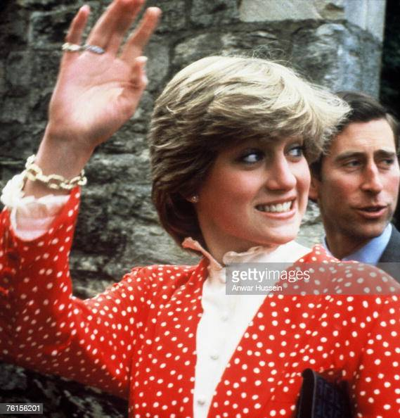 Lady Diana Spencer and Prince...