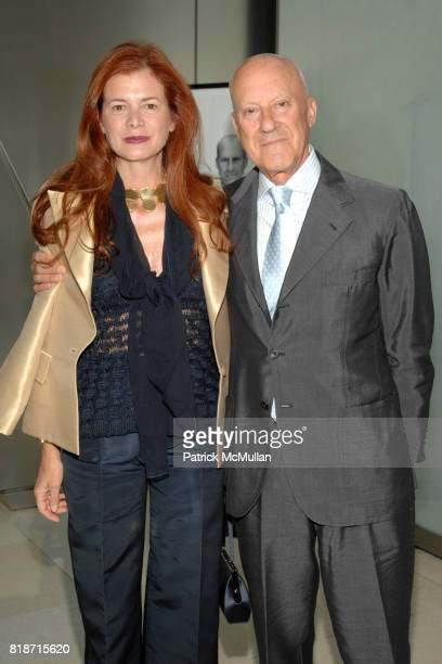 Lady Elena Foster and Lord Norman Foster attend Champagne Reception for the New York Premiere of 'HOW MUCH DOES YOUR BUILDING WEIGH MR FOSTER' hosted...