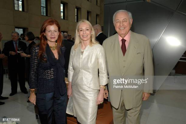 Lady Elena Foster Judy Taubman and Alfred Taubman attend Champagne Reception for the New York Premiere of 'HOW MUCH DOES YOUR BUILDING WEIGH MR...