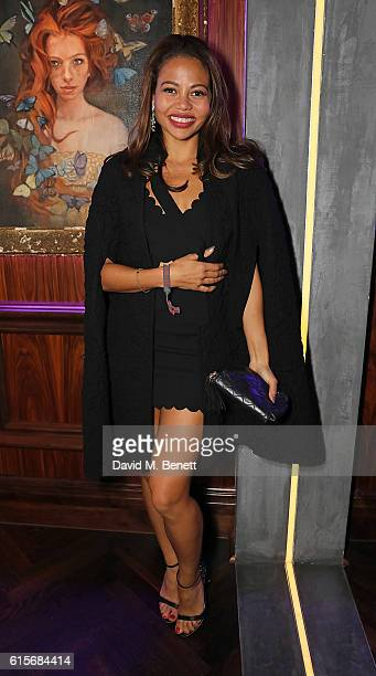 Lady Emma Weymouth attends the launch of MNKY HSE latenight restaurant Mayfair on October 19 2016 in London England