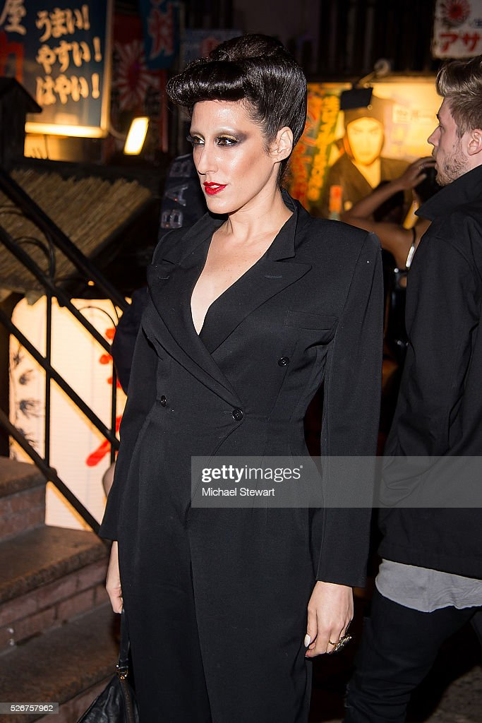 Lady Fag attends the Vogue.com Met Gala cocktail party at Search & Destroy on April 30, 2016 in New York City.
