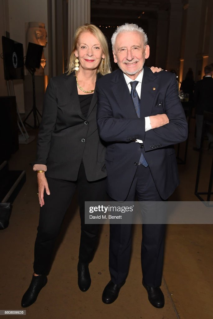 Lady Frances Sorrell and Sir John Sorrell attend the Montblanc de la Culture Arts Patronage Award for the work of the Genesis Foundation at The British Museum on October 12, 2017 in London, England.