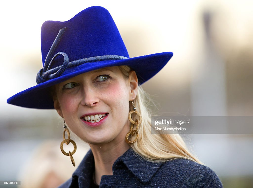 Lady Gabriella Windsor attends the Hennessy Gold Cup at Newbury Racecourse on December 01, 2012 in Newbury, England.