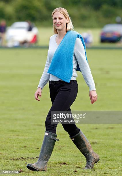 Lady Gabriella Windsor attends the Jerudong Trophy polo match at Cirencester Park Polo Club on June 25 2016 in Cirencester England