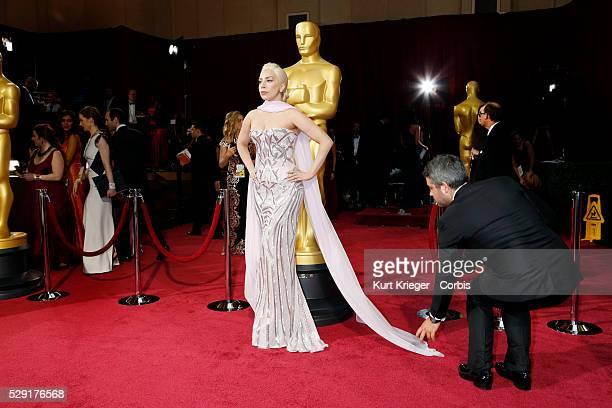 Lady Gaga 86th Academy Awards / Oscars Dolby Theater Hollywood CA March 2 2014 ��2014 Kurt Krieger