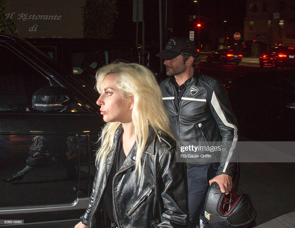 Lady Gaga stars in 2018's remake of the Streisand classic 'A Star Is Born'. This version is directed by actor Bradley Cooper, pictured here with Lady Gaga.