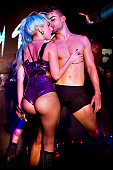 Lady Gaga appears at Sydney gay club Nevermind on July 11 2011 in Sydney Australia The musician who is in Sydney for a oneoff performance at Sydney...