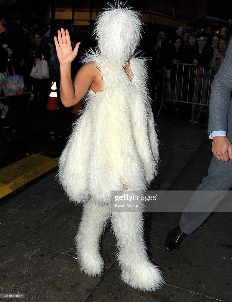 <a gi-track='captionPersonalityLinkClicked' href=/galleries/search?phrase=Lady+Gaga&family=editorial&specificpeople=4456754 ng-click='$event.stopPropagation()'>Lady Gaga</a> arrives at Roseland Ballroom on March 30, 2014 in New York City.