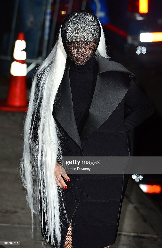 <a gi-track='captionPersonalityLinkClicked' href=/galleries/search?phrase=Lady+Gaga&family=editorial&specificpeople=4456754 ng-click='$event.stopPropagation()'>Lady Gaga</a> arrives at Roseland Ballroom on March 31, 2014 in New York City.