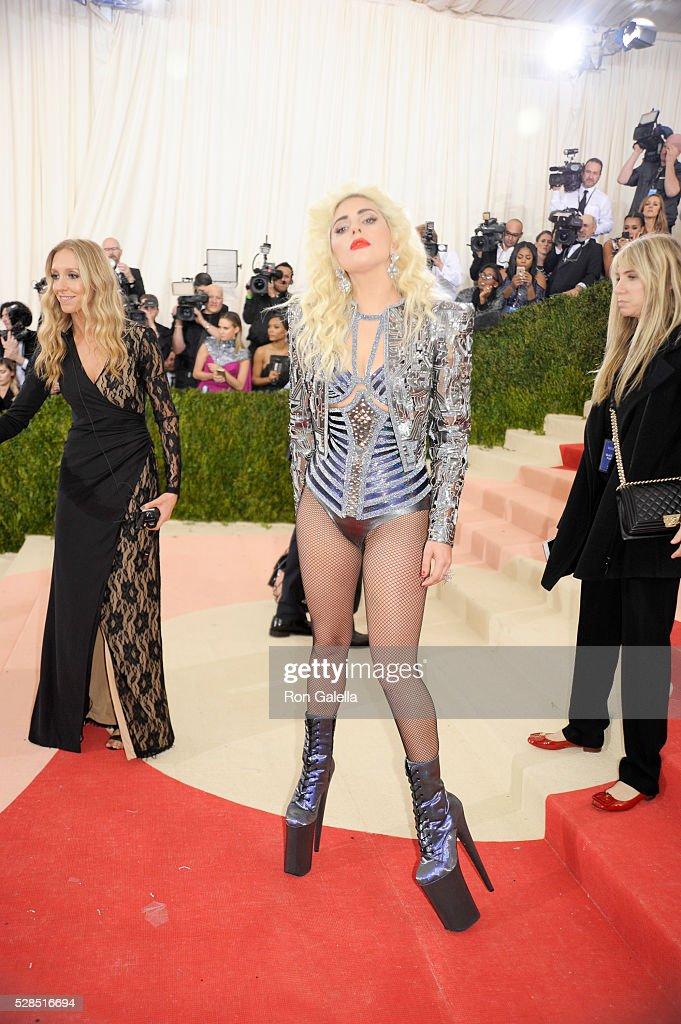 Lady Gaga at Metropolitan Museum of Art on May 2, 2016 in New York City.