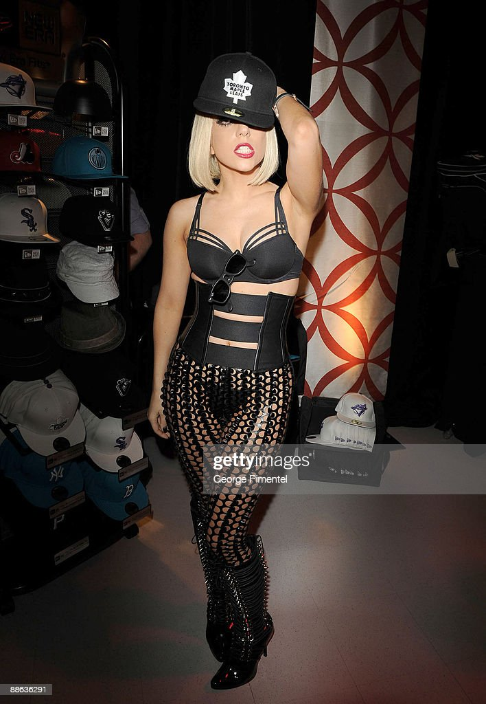 Lady Gaga attends day 2 of the 20th Annual MuchMusic Video Awards On 3 Productions Gift Lounge at the MuchMusic HQ on June 21 2009 in Toronto Canada