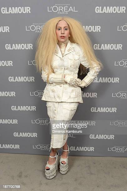 Lady Gaga attends Glamour's 23rd annual Women of the Year awards on November 11 2013 in New York City