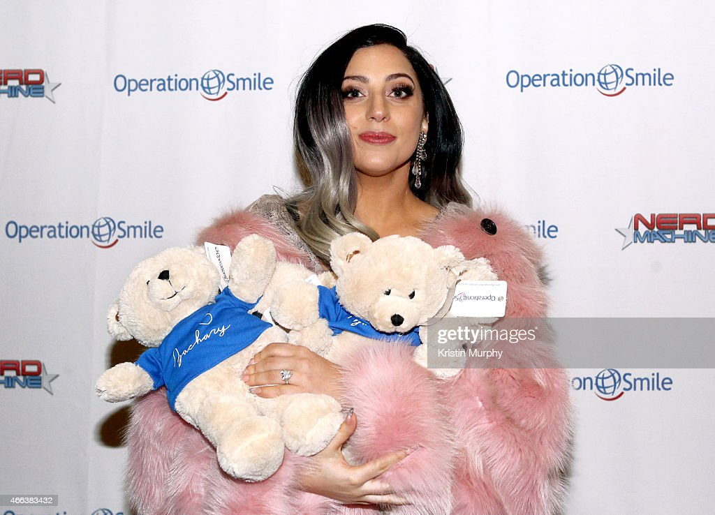 Lady Gaga attends Operation Smile's 4th Annual Celebrity Ski & Smile Challenge VIP Dinner on March 14, 2015 in Park City, Utah.