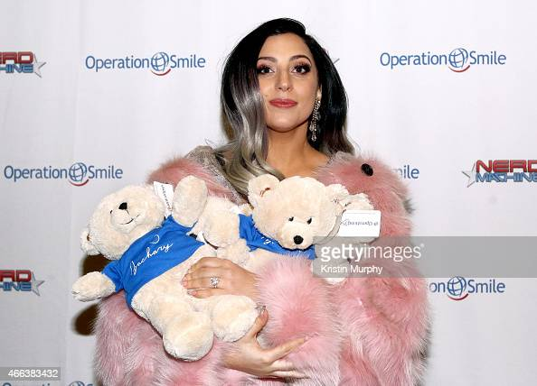 Lady Gaga attends Operation Smile's 4th Annual Celebrity Ski Smile Challenge VIP Dinner on March 14 2015 in Park City Utah