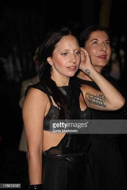 Lady Gaga attends The 20th Annual Watermill Center Summer Benefit at The Watermill Center on July 27 2013 in Water Mill New York