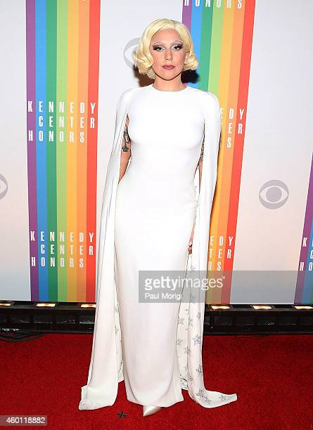 Lady Gaga attends the 37th Annual Kennedy Center Honors at the John F Kennedy Center for the Performing Arts on December 7 2014 in Washington DC