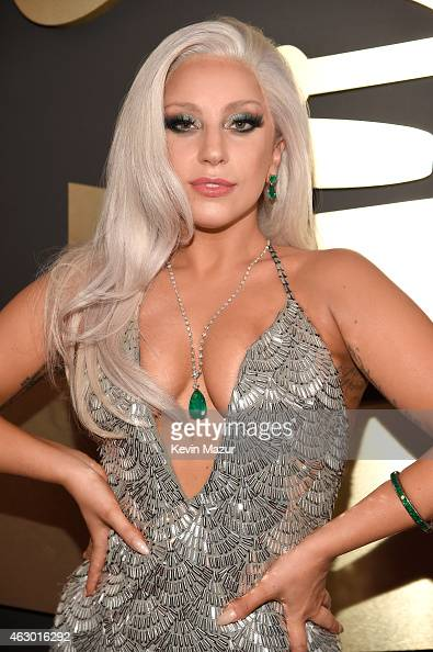 Lady Gaga attends The 57th Annual GRAMMY Awards at the STAPLES Center on February 8 2015 in Los Angeles California