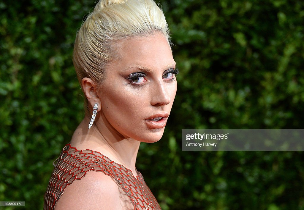 Lady Gaga attends the British Fashion Awards 2015 at London Coliseum on November 23, 2015 in London, England.