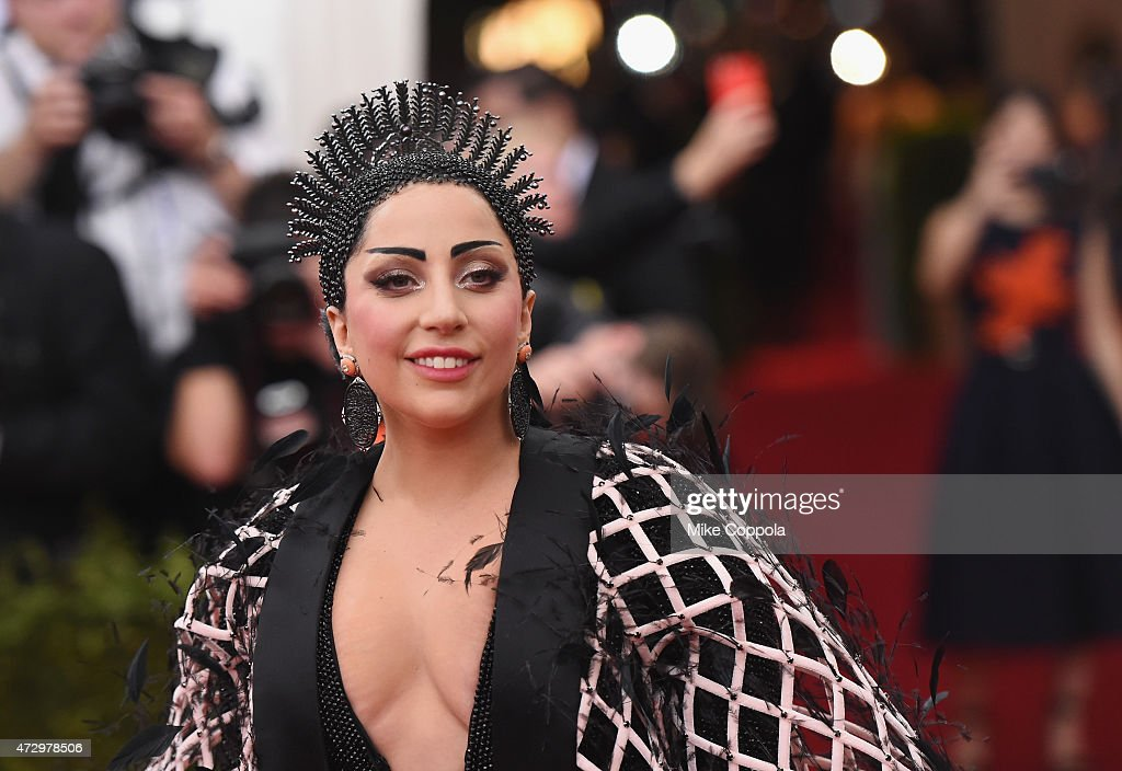 <a gi-track='captionPersonalityLinkClicked' href=/galleries/search?phrase=Lady+Gaga&family=editorial&specificpeople=4456754 ng-click='$event.stopPropagation()'>Lady Gaga</a> attends the 'China: Through The Looking Glass' Costume Institute Benefit Gala at the Metropolitan Museum of Art on May 4, 2015 in New York City.