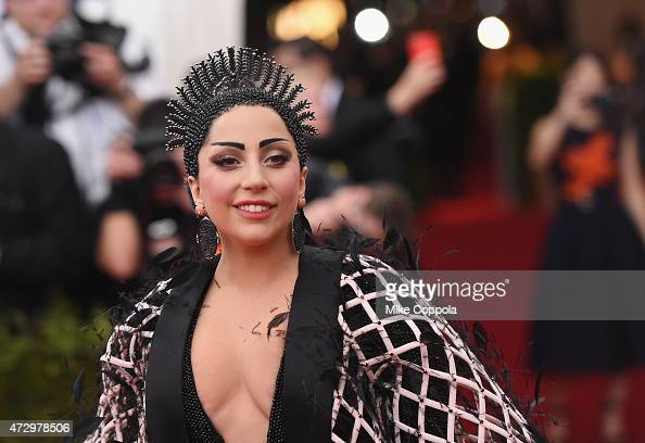 Lady Gaga attends the 'China Through The Looking Glass' Costume Institute Benefit Gala at the Metropolitan Museum of Art on May 4 2015 in New York...