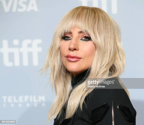 Lady Gaga attends the Gaga 'Five Foot Two' photo call during the 2017 Toronto International Film Festival at Tiff Bell Lightbox on September 8 2017...