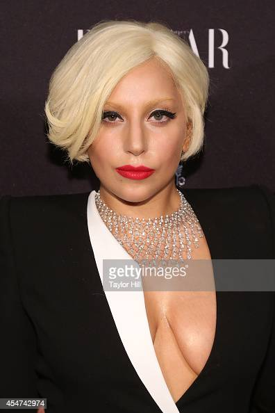 Lady Gaga attends the Harper's Bazaar ICONS Celebration at The Plaza Hotel on September 5 2014 in New York City