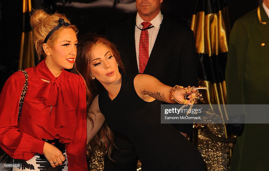 <a gi-track='captionPersonalityLinkClicked' href=/galleries/search?phrase=Lady+Gaga&family=editorial&specificpeople=4456754 ng-click='$event.stopPropagation()'>Lady Gaga</a> attends the launch of new perfume Fame by <a gi-track='captionPersonalityLinkClicked' href=/galleries/search?phrase=Lady+Gaga&family=editorial&specificpeople=4456754 ng-click='$event.stopPropagation()'>Lady Gaga</a> at Harrods on October 7, 2012 in London, England.