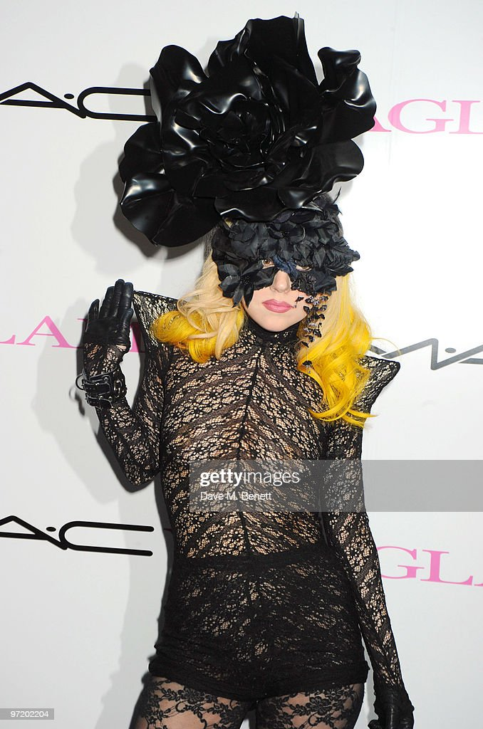 <a gi-track='captionPersonalityLinkClicked' href=/galleries/search?phrase=Lady+Gaga&family=editorial&specificpeople=4456754 ng-click='$event.stopPropagation()'>Lady Gaga</a> attends the MAC VIVA GLAM launch hosted by Sharon Osbourne to promote MAC's latest fundraising range with all proceeds donated to HIV/AIDs charities via the MAC AIDS Fund, at Il Bottaccio on March 1, 2010 in London, England.