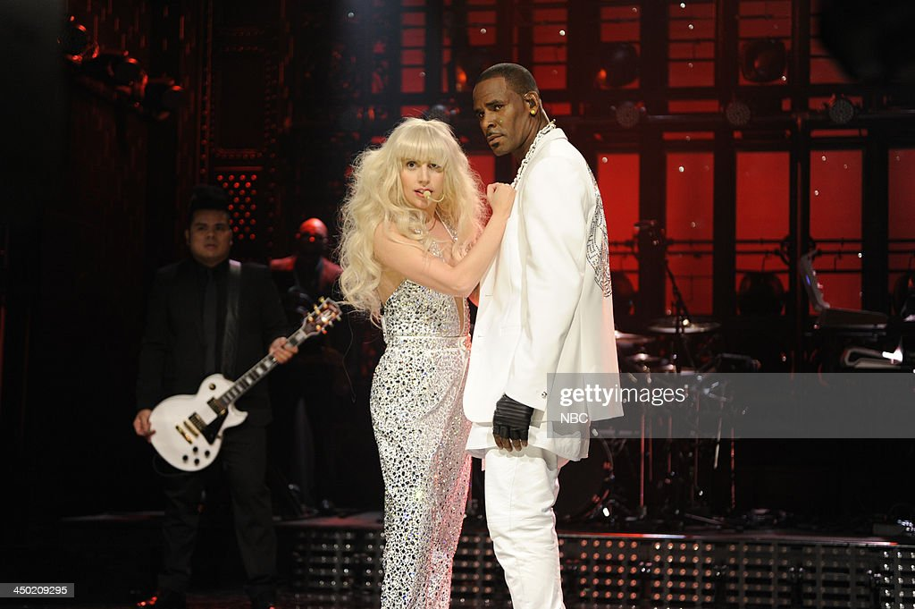LIVE -- '<a gi-track='captionPersonalityLinkClicked' href=/galleries/search?phrase=Lady+Gaga&family=editorial&specificpeople=4456754 ng-click='$event.stopPropagation()'>Lady Gaga</a>' Episode 1647 -- Pictured: (l-r) <a gi-track='captionPersonalityLinkClicked' href=/galleries/search?phrase=Lady+Gaga&family=editorial&specificpeople=4456754 ng-click='$event.stopPropagation()'>Lady Gaga</a>, <a gi-track='captionPersonalityLinkClicked' href=/galleries/search?phrase=R.+Kelly&family=editorial&specificpeople=204472 ng-click='$event.stopPropagation()'>R. Kelly</a> --