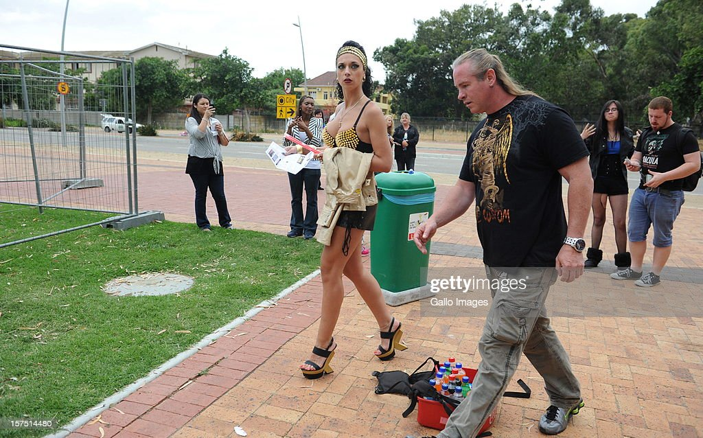 <a gi-track='captionPersonalityLinkClicked' href=/galleries/search?phrase=Lady+Gaga&family=editorial&specificpeople=4456754 ng-click='$event.stopPropagation()'>Lady Gaga</a> fans gather outside Cape Town Stadium on December 3, 2012, in Cape Town, South Africa. This was the last South African performance in <a gi-track='captionPersonalityLinkClicked' href=/galleries/search?phrase=Lady+Gaga&family=editorial&specificpeople=4456754 ng-click='$event.stopPropagation()'>Lady Gaga</a>'s Born This Way Ball World Tour.