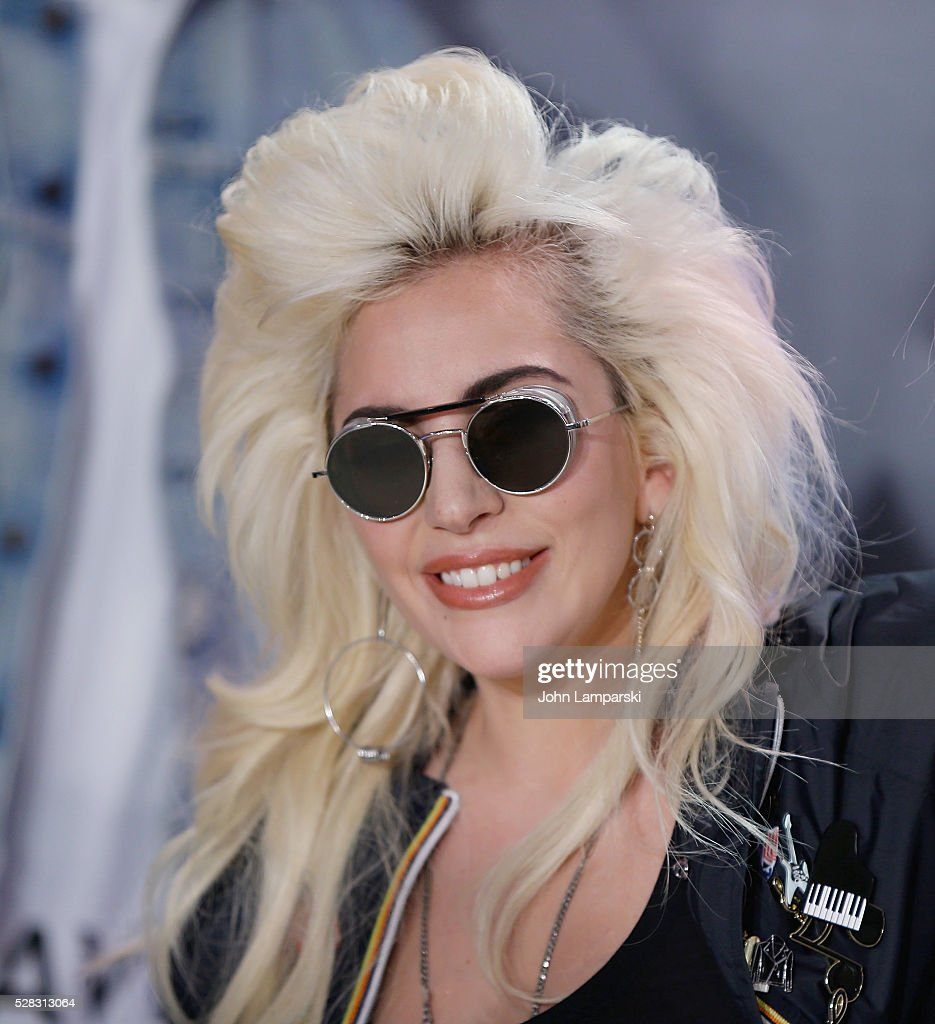 <a gi-track='captionPersonalityLinkClicked' href=/galleries/search?phrase=Lady+Gaga&family=editorial&specificpeople=4456754 ng-click='$event.stopPropagation()'>Lady Gaga</a> launchs Love Bravery Collection at Macy's Herald Square at Macy's Herald Square on May 4, 2016 in New York City.