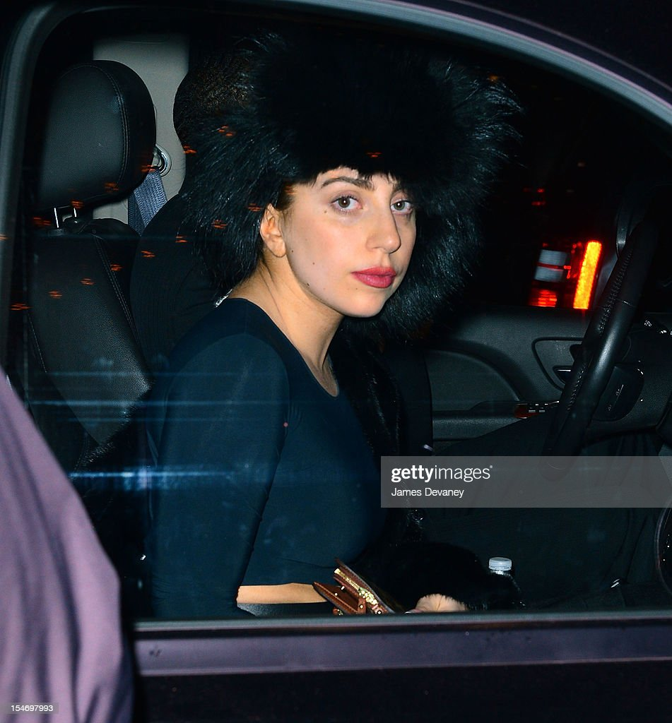<a gi-track='captionPersonalityLinkClicked' href=/galleries/search?phrase=Lady+Gaga&family=editorial&specificpeople=4456754 ng-click='$event.stopPropagation()'>Lady Gaga</a> leaves The Waldorf Towers on October 24, 2012 in New York City.