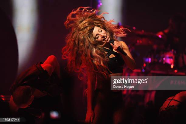Lady Gaga opens the iTunes Festival at The Roundhouse on September 1 2013 in London England