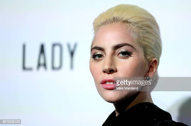Lady Gaga performs a secret gig for fans at Westfield London on December 1 2016 in London England