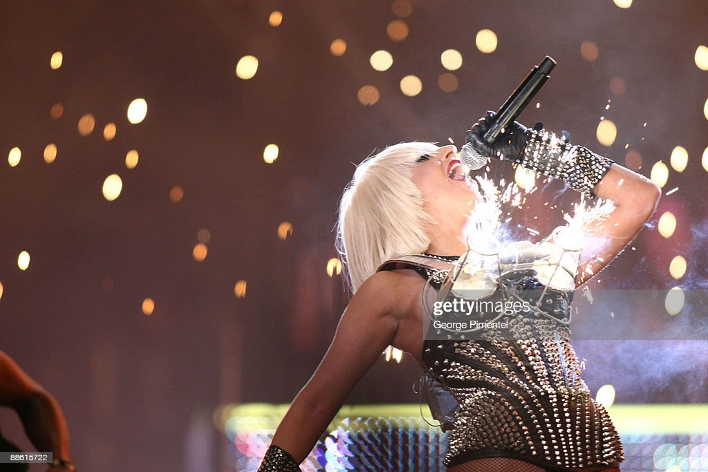 Lady Gaga performs at the 20th Annual MuchMusic Video Awards at the MuchMusic HQ on June 21 2009 in Toronto Canada