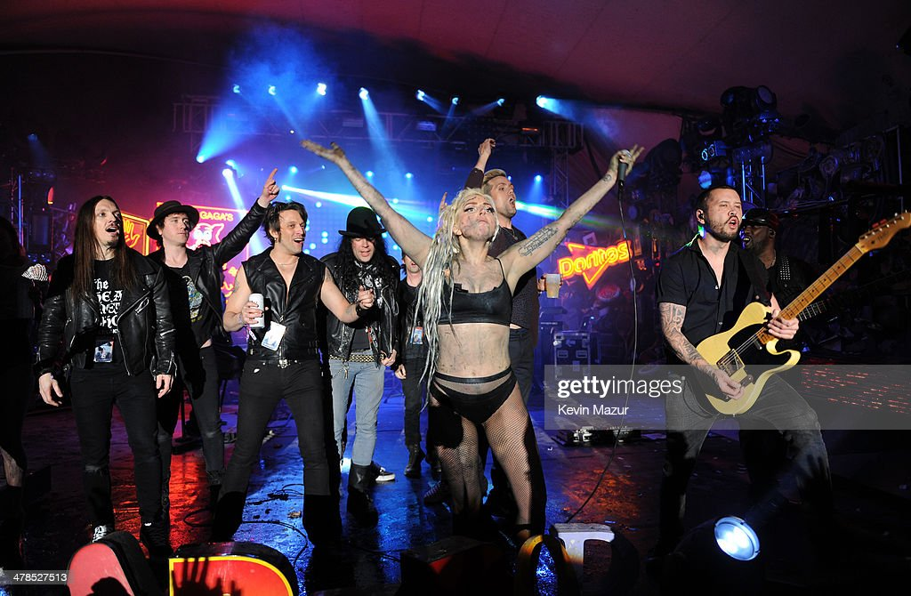 LAY - <a gi-track='captionPersonalityLinkClicked' href=/galleries/search?phrase=Lady+Gaga&family=editorial&specificpeople=4456754 ng-click='$event.stopPropagation()'>Lady Gaga</a> performs on the Doritos #BoldStage at Stubb's Bar-B-Q in an exclusive performance celebrating her Born This Way Foundation on Thursday, March 13, 2014 at the South by Southwest Music Festival in Austin, Texas. The performance was only accessible for fans that proved their boldness by completing a Doritos Bold Mission.
