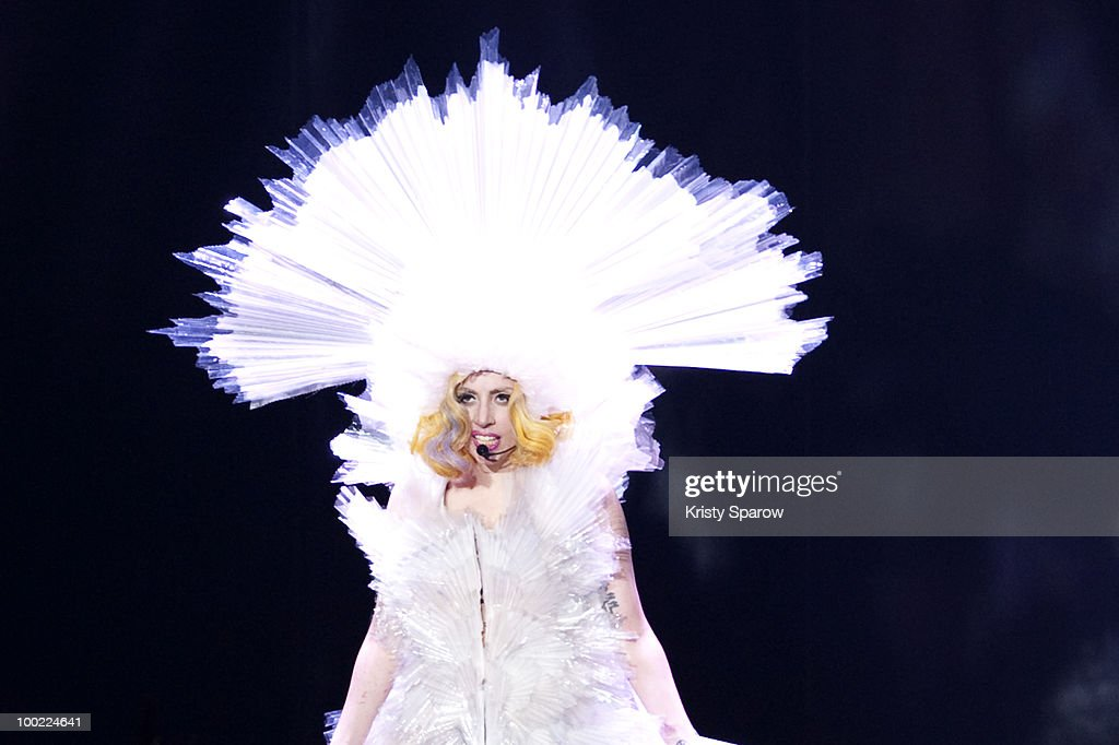 <a gi-track='captionPersonalityLinkClicked' href=/galleries/search?phrase=Lady+Gaga&family=editorial&specificpeople=4456754 ng-click='$event.stopPropagation()'>Lady Gaga</a> performs onstage at Palais Omnisports de Bercy on May 21, 2010 in Paris, France.