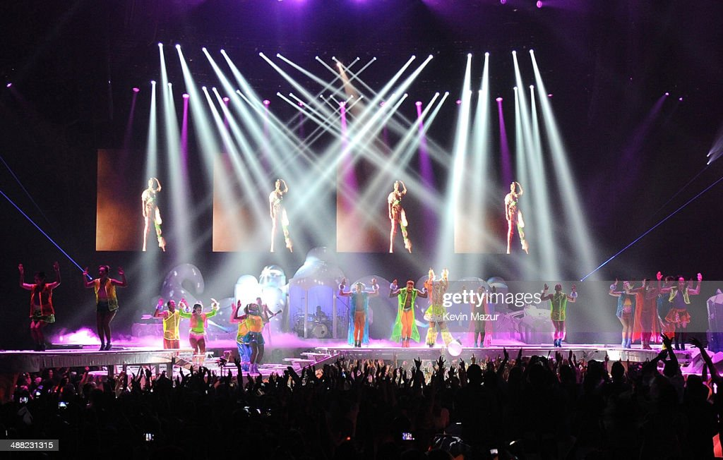 Lady Gaga performs onstage during 'The ARTPOP Ball' tour opener at BB&T Center on May 4, 2014 in Sunrise, Florida.