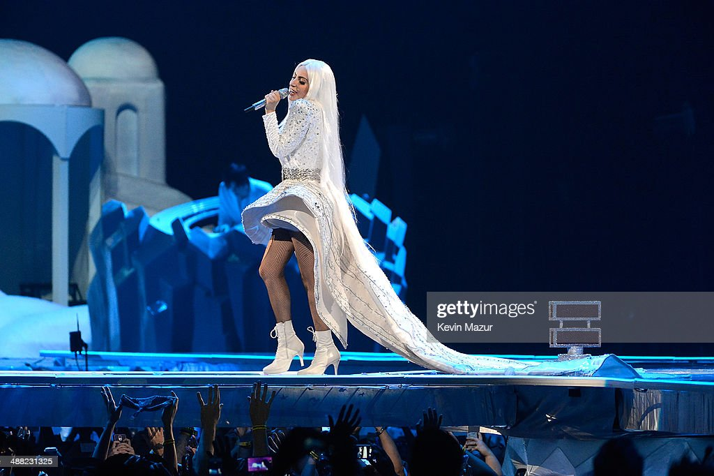 <a gi-track='captionPersonalityLinkClicked' href=/galleries/search?phrase=Lady+Gaga&family=editorial&specificpeople=4456754 ng-click='$event.stopPropagation()'>Lady Gaga</a> performs onstage during 'The ARTPOP Ball' tour opener at BB&T Center on May 4, 2014 in Sunrise, Florida.
